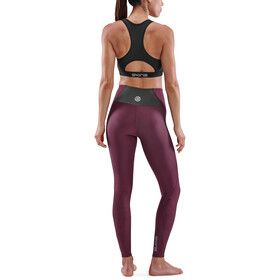 Skins Series-3 Compression Long Tights Women, rojo